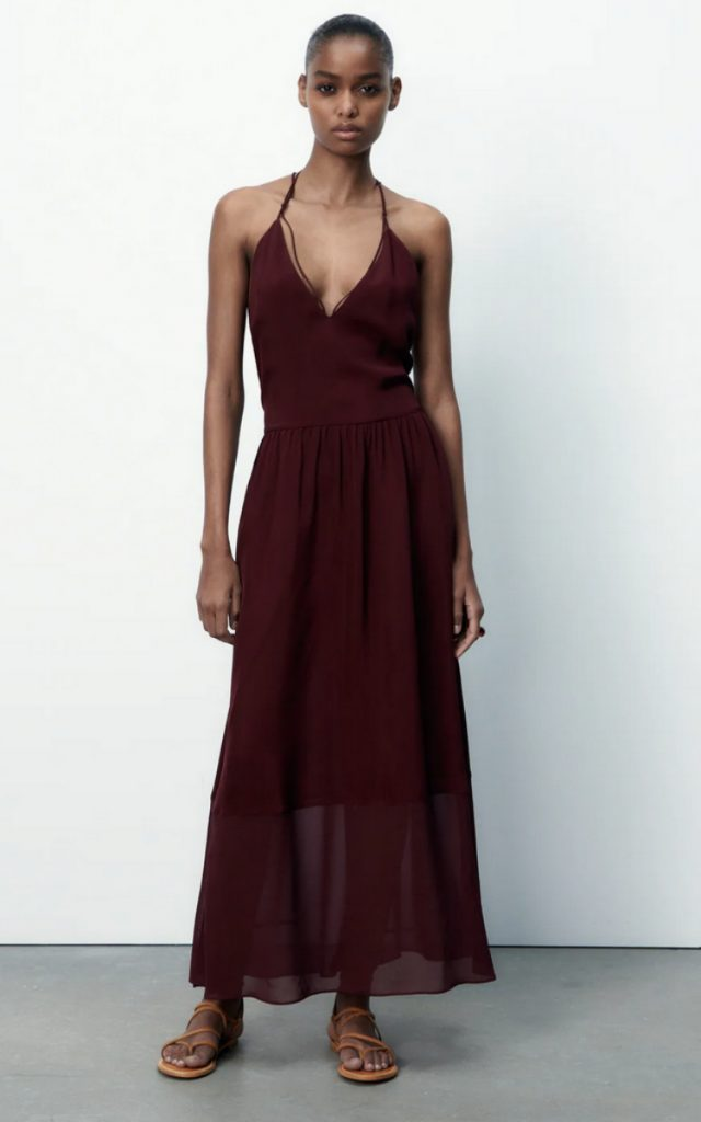 Strappy Dress, Zara