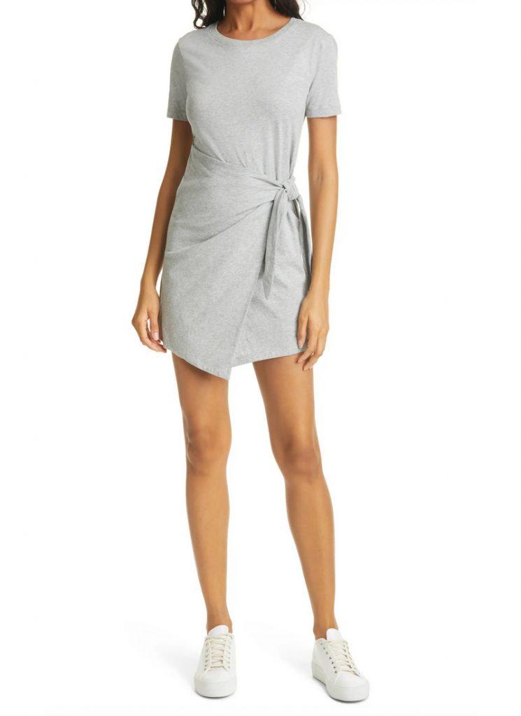 Tie Waist T-Shirt Dress, Rails