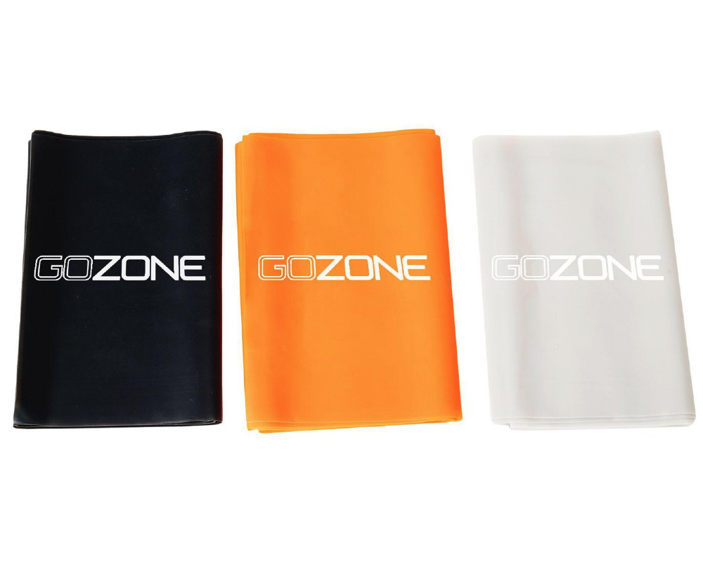 3 Pack of Resistance Bands from GoZone