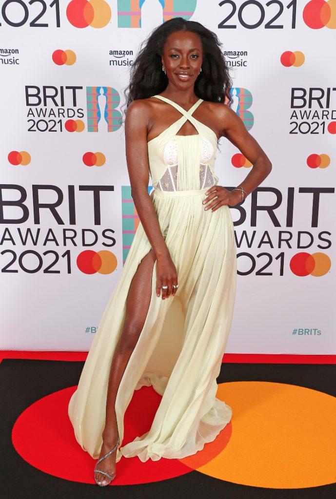 AJ Odudu Brit Awards 2021
