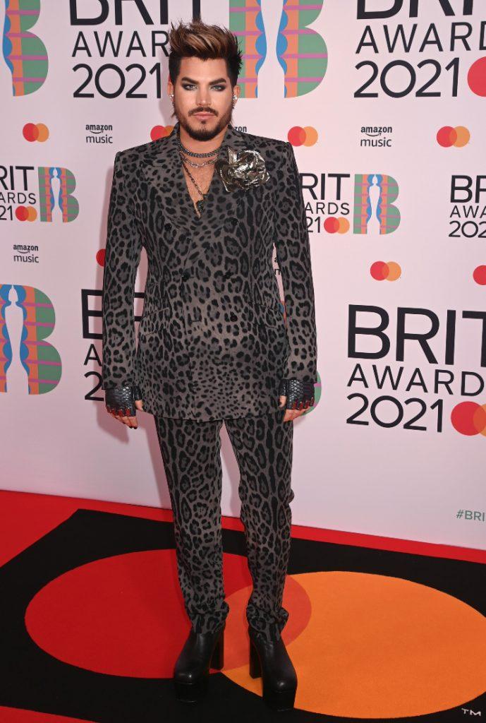 Adam Lambert Brit Awards 2021