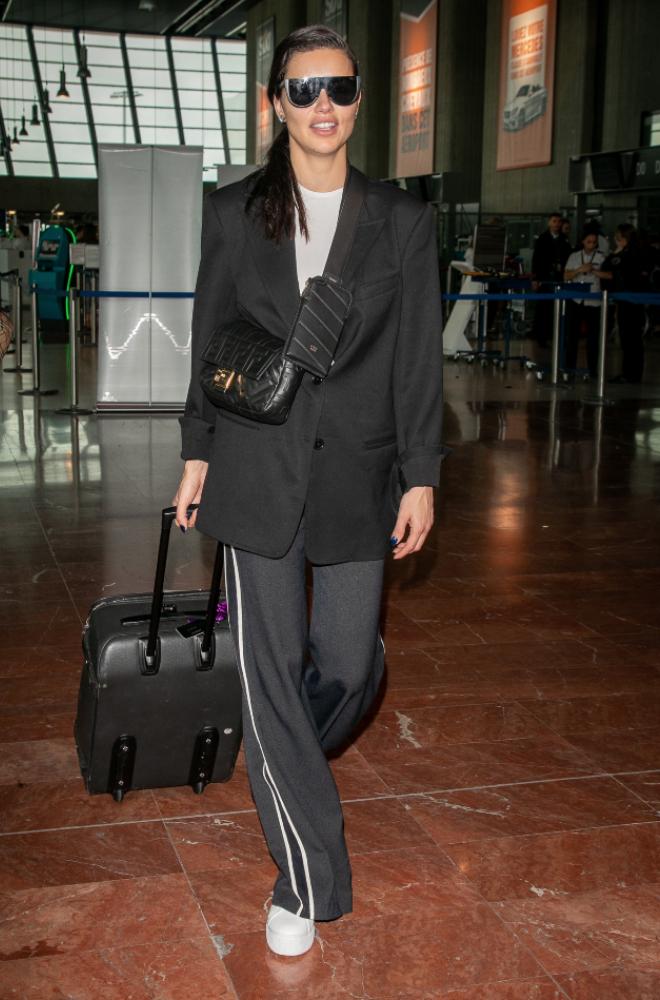 Adriana Lima at Airport