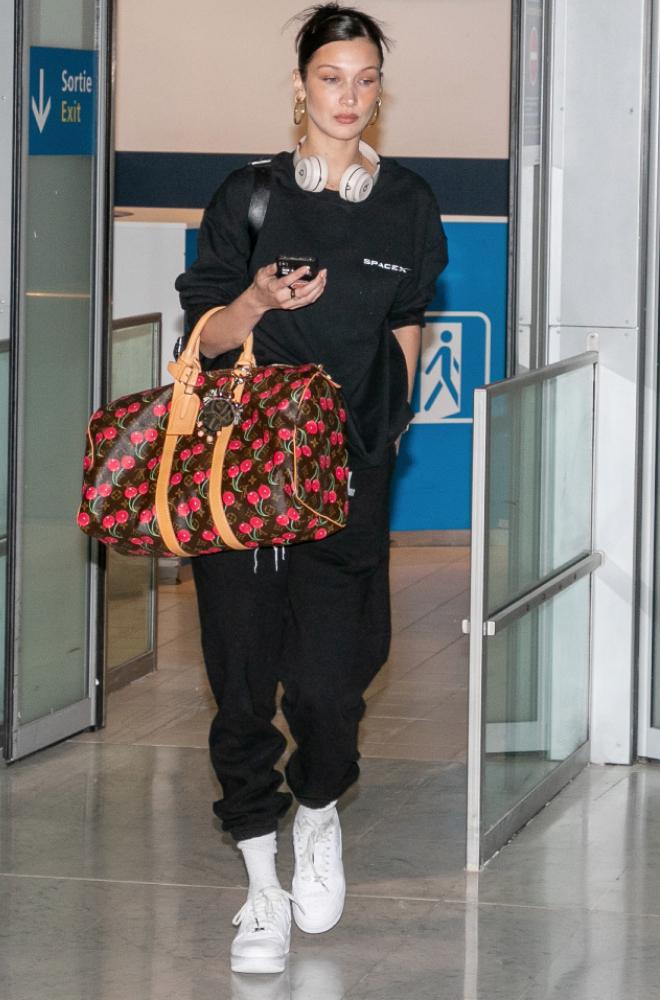 Bella Hadid at Airport