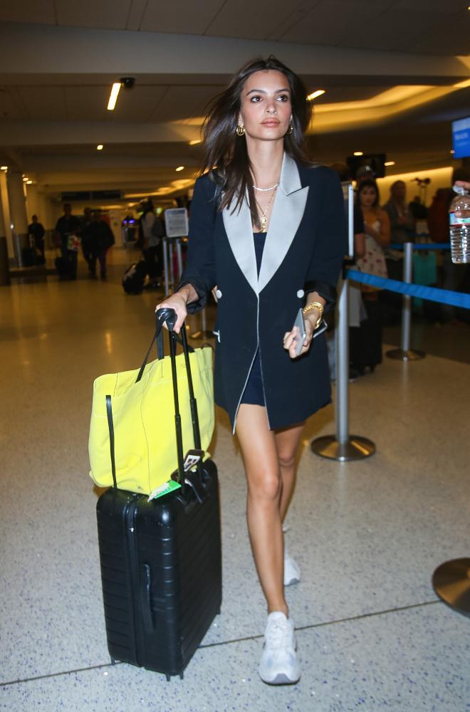 Emily Rata at Airport