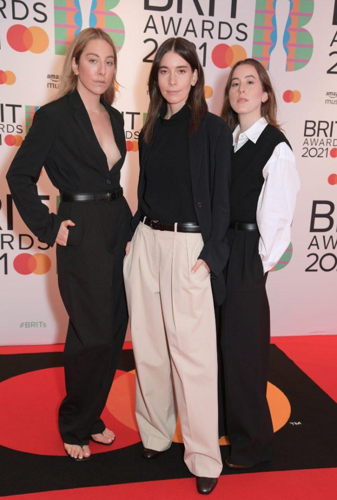 HAIM Brit Awards 2021
