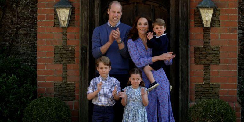 KateMiddleton, Prince William and children