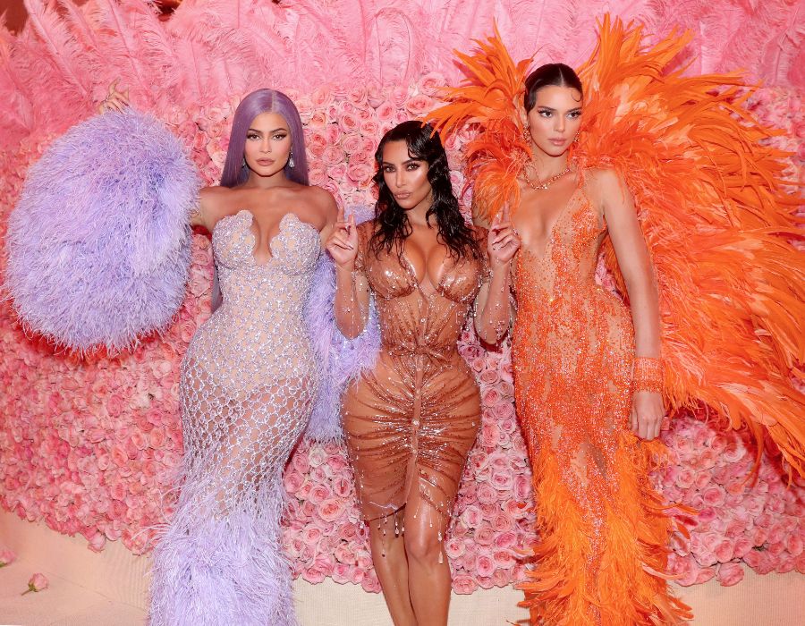 Kim, Kylie and Kendall
