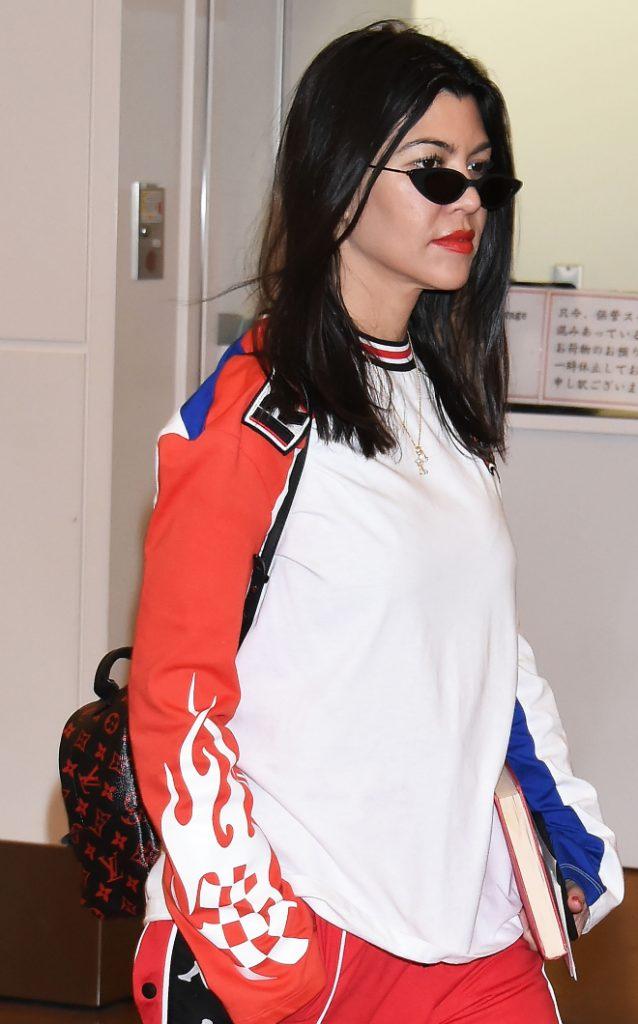 Kourtney Kardashian at Airport