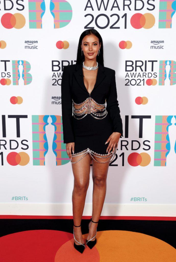 Maya Jama Brit Awards 2021