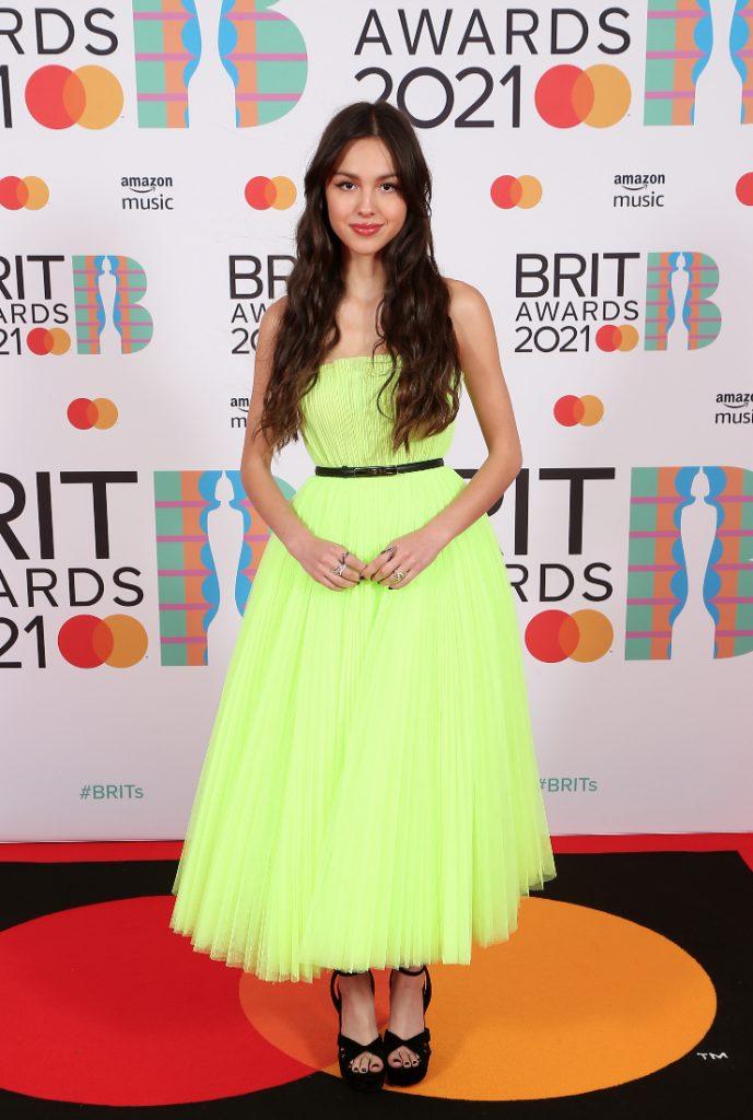 Olivia Rodrigo Brit Awards 2021