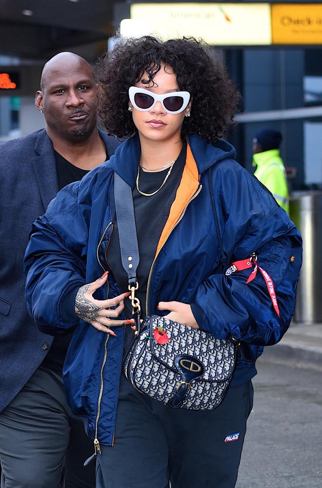 Rihanna at Airport