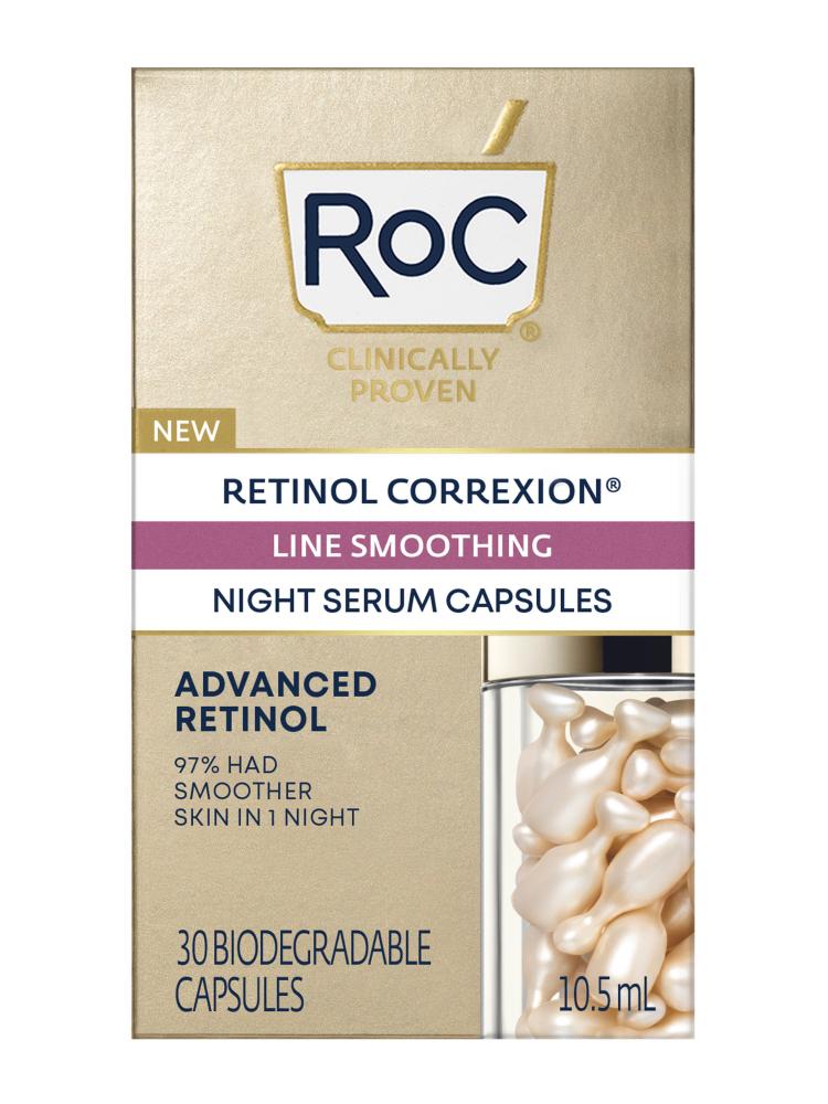 RoC Retinol Correxion Line Smoothing Night Serum Capsules