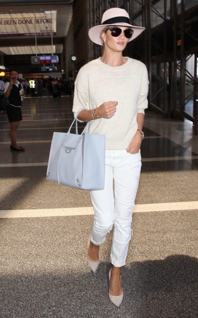 Rosie HW at Airport