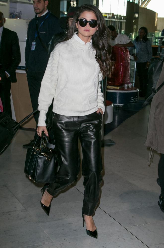 Selena Gomez at Airport
