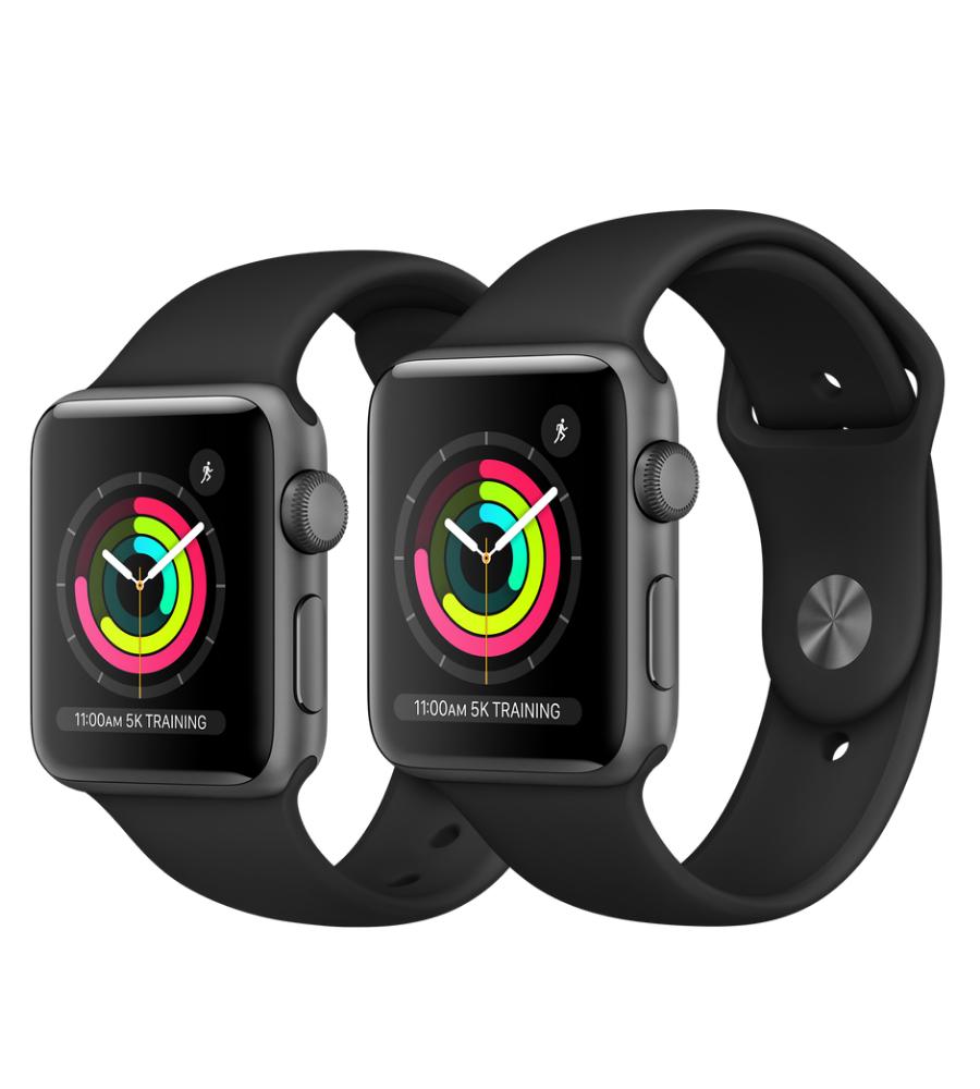 Space Grey Apple Watch Series 3, Apple