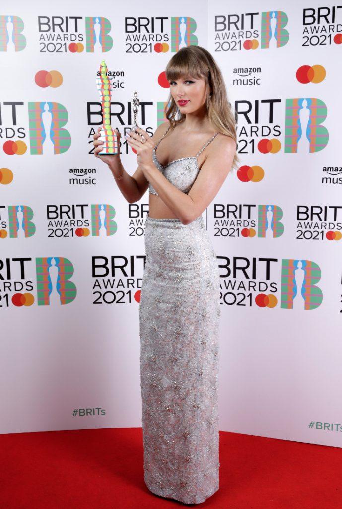 Taylor Swift Brit Awards 2021