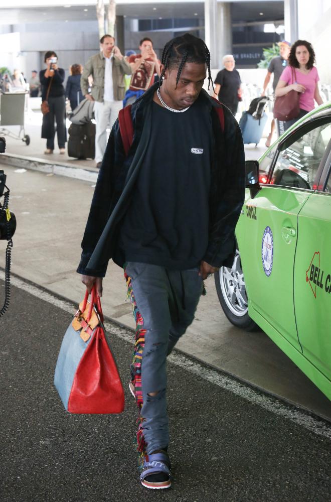 Travis Scott at Airport