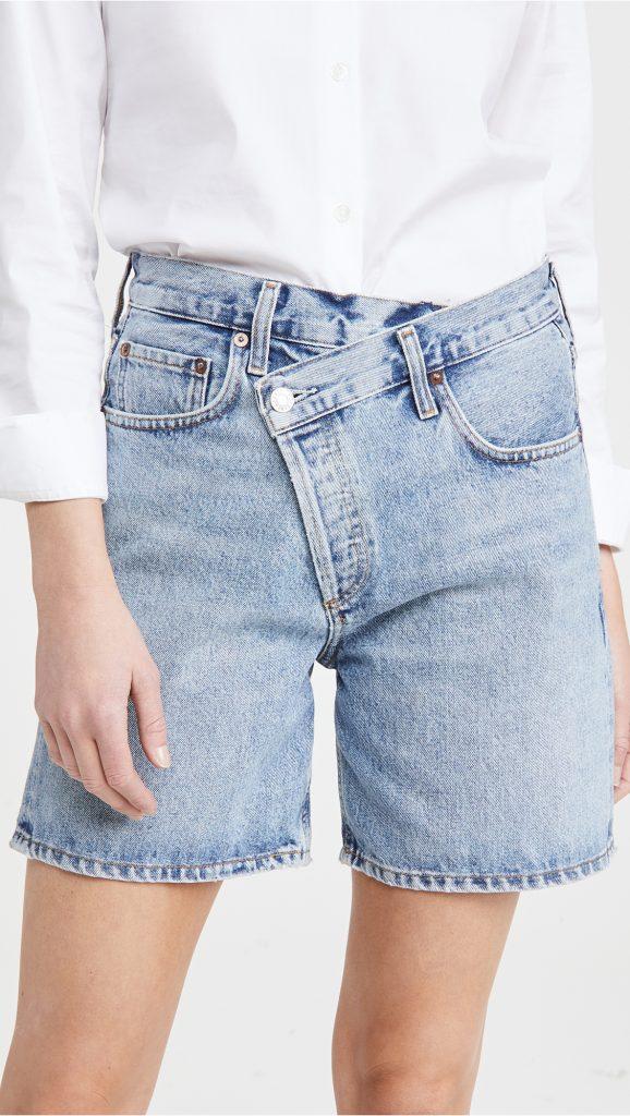 ELLE TOP: Trendy Denim Shorts for Summer 2021