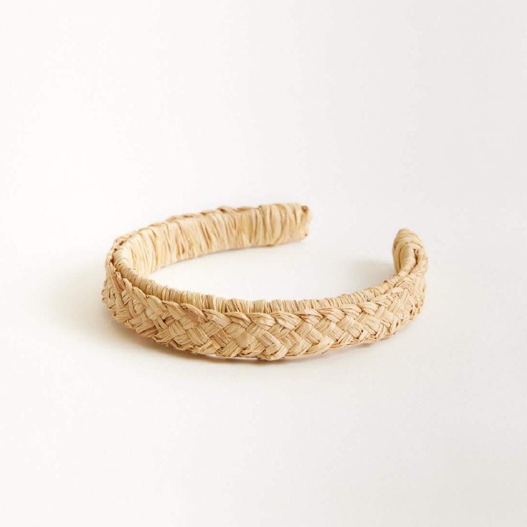 Heirloom Dubuffet Straw Headband