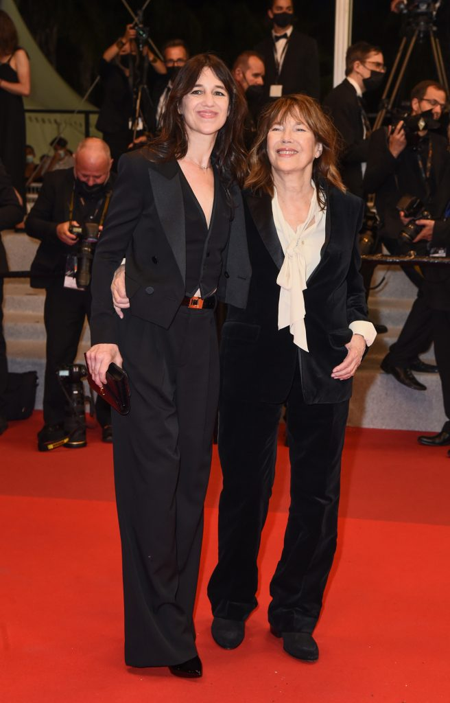 Charlotte Gainsbourg and Jane Birkin in Saint Laurent