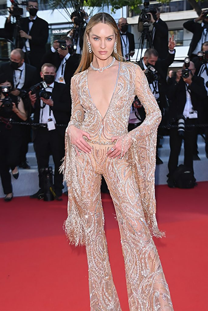 Candice Swanepoel in Cannes