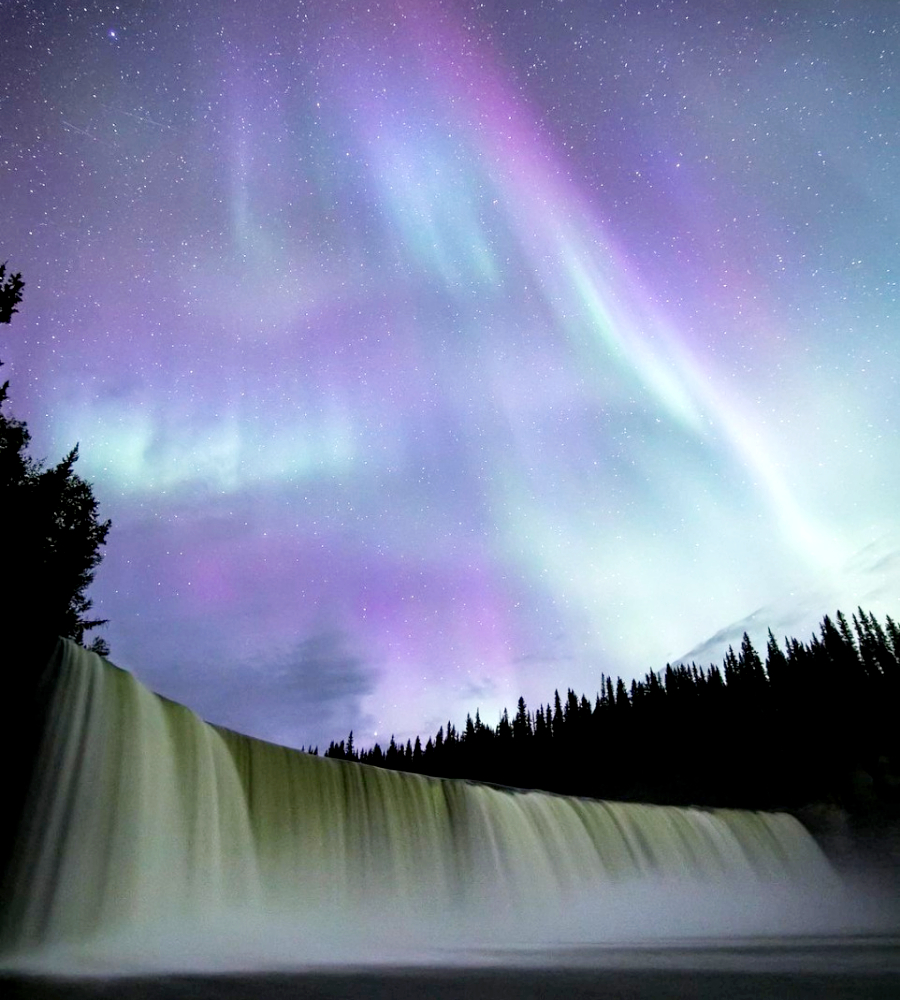 Lady Evelyn Falls, Northwest Territories