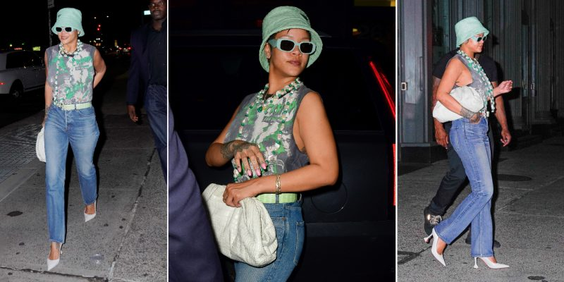 Rihanna date night look