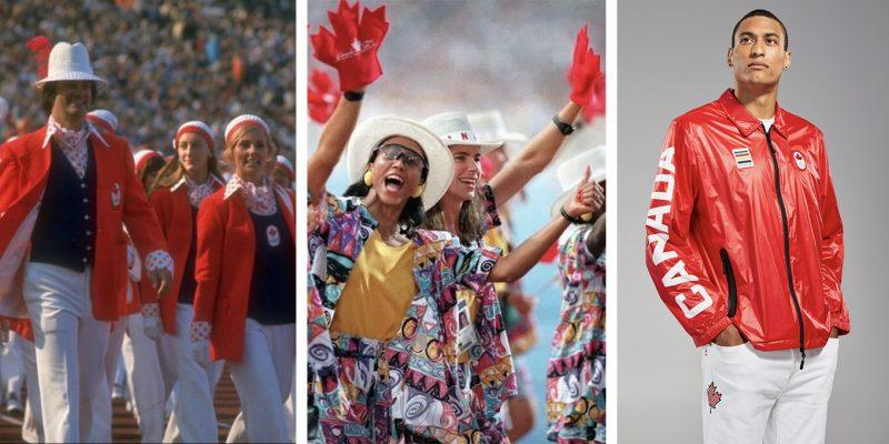 Team Canada Olympic Games Uniforms