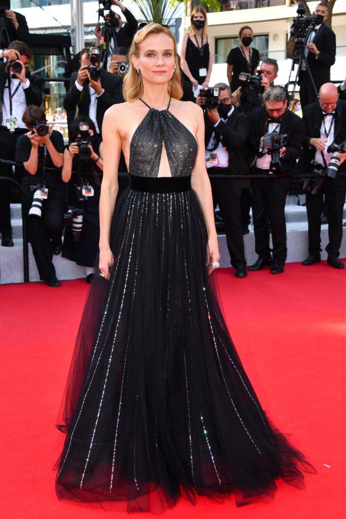 Diane Kruger in Armani Privé