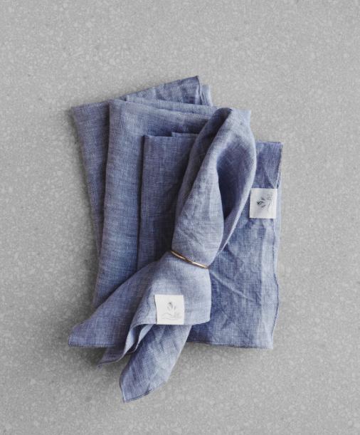 Linen dinner napkins, Atelier Confetti Mill