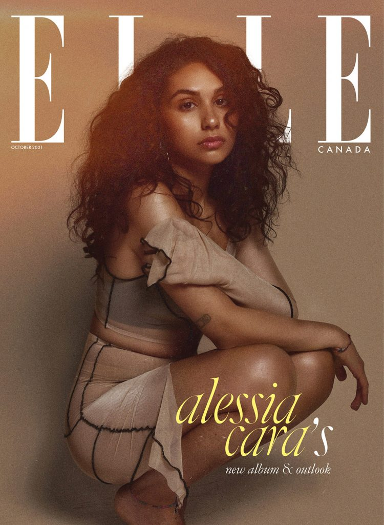 ELLE Canada October 2021 Digital Cover
